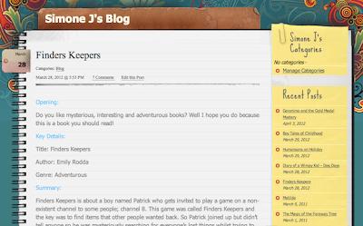 Class Blog Entry